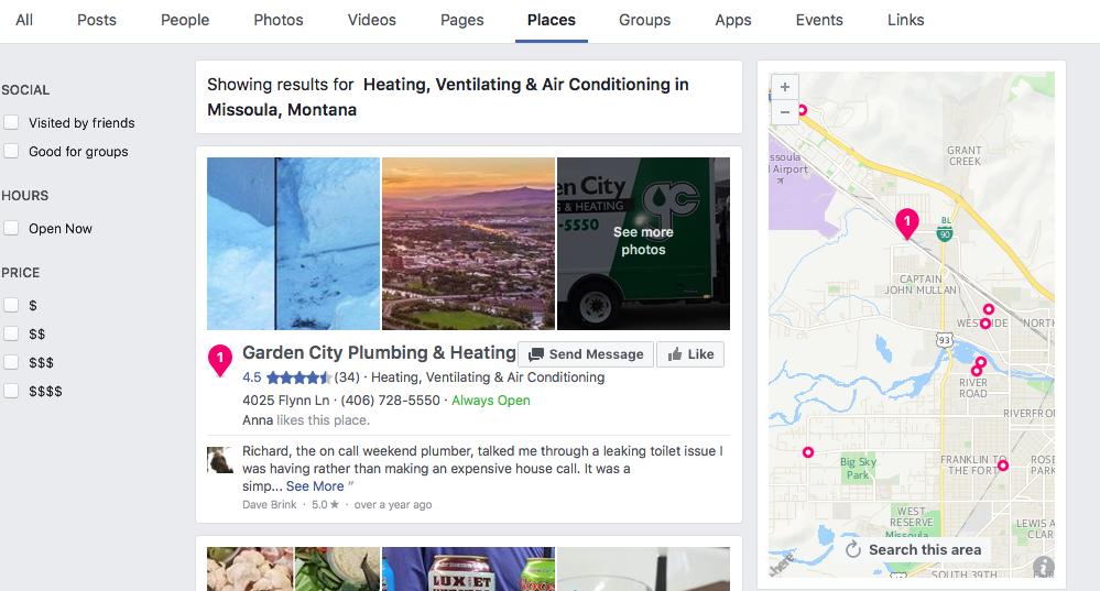 Facebook Best HVAC Contractors in Missoula Montana