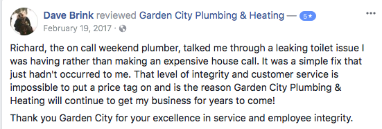9 Missoula Montana Plumbing Review on Facebook
