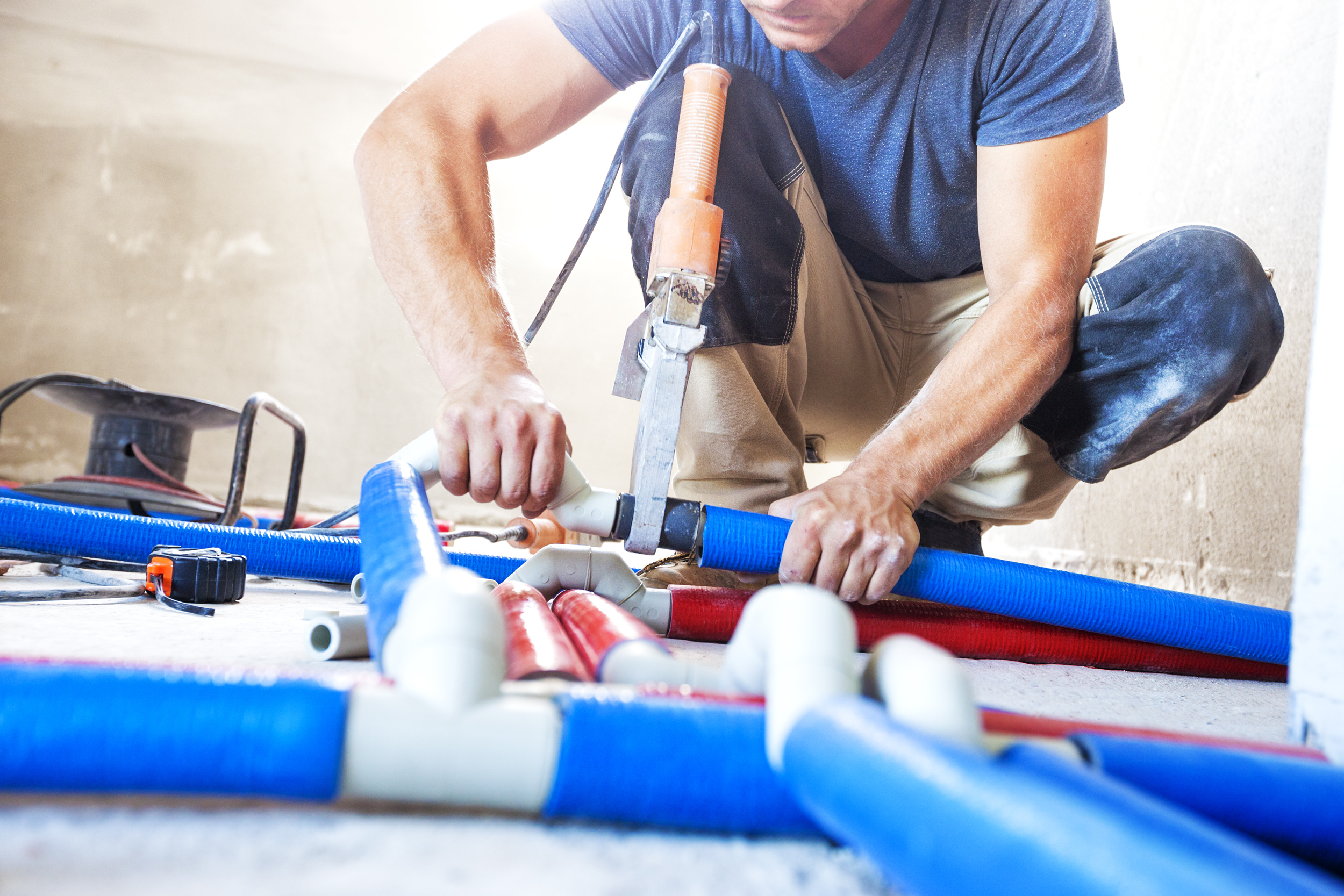 HVAC installer tools for air conditioning